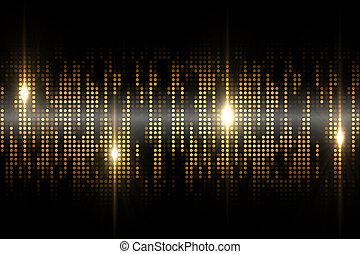 pixel, hintergrund, kühl