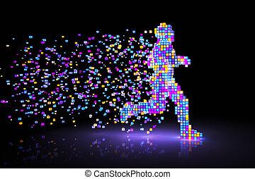 pixel, homme