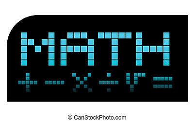pixel, matemática