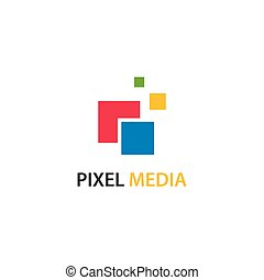 Pixel media business Logo