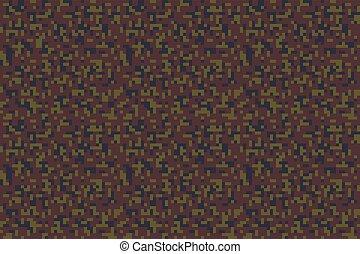 pixel, militaer, seamless, tarnung, muster