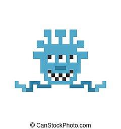 Pixel monster