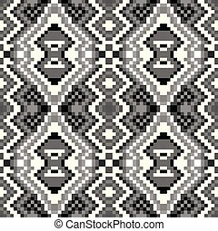 pixel seamless pattern on a gray background