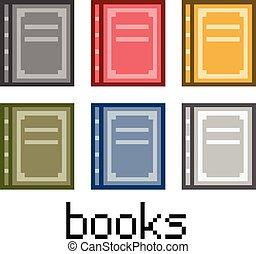 Pixel set books