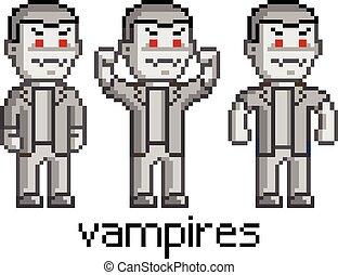 Pixel set vampires