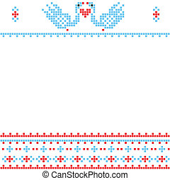 Pixel wedding decor
