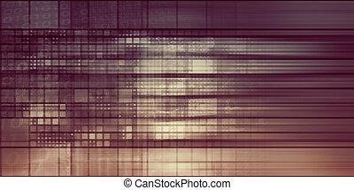 Pixelated Background