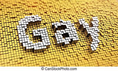 Pixelated Gay