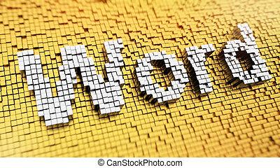 Pixelated Word