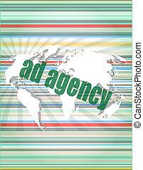 pixeled, 広告, スクリーン, 代理店, デジタル, 単語