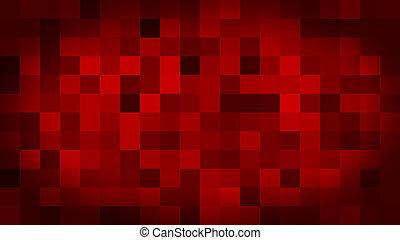 pixels, fond, coloré, commutateur, résumé, mouvement, rouges, clignotant