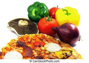 Pizza and ingredients 2