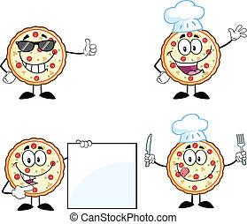 Pizza Character 2  Collection Set