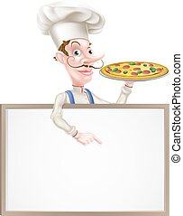 Pizza Chef Sign