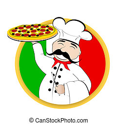 pizza, chef