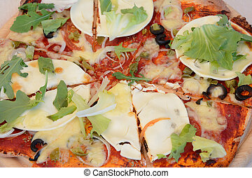pizza, cicatrizarse