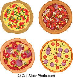 pizza, colección