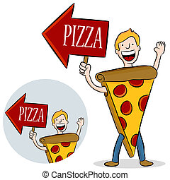 Pizza Costume Promotion