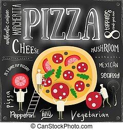 Pizza Cover Menu