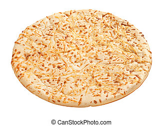 Pizza Crust (with clipping path) - Pizza Crust with a...