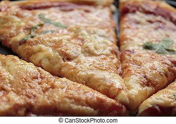 pizza de queso, cicatrizarse