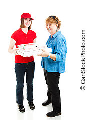 Pizza Delivery Full Body