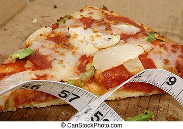 pizza, dieta, 5