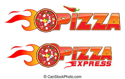 pizza flame express - pizza