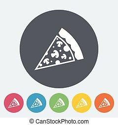 Pizza flat icon