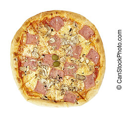 pizza food meal