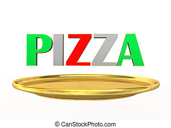 Pizza Golden Plate