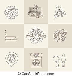 pizza, heiligenbilder