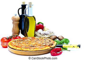 pizza, ingredienti