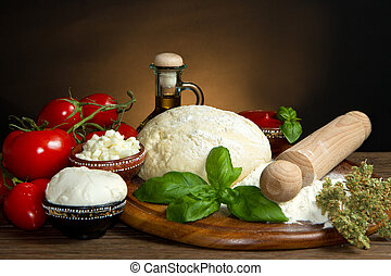 pizza ingredients - ingredients for homemade pizza