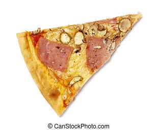 pizza, lebensmittel, mahlzeit