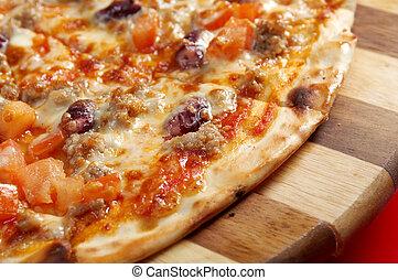 Pizza Neapolitan . italian kitchen. Studio