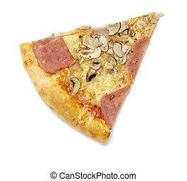 pizza, nourriture, repas