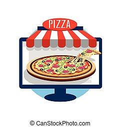 Pizza online Icon