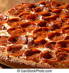 pizza salchicha