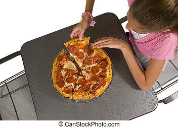 pizza, tijd