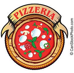 pizzeria, ícone