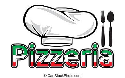 pizzeria, sinal