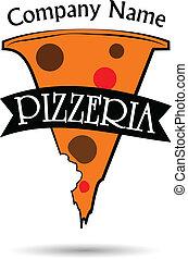 pizzeria vector logo illustration