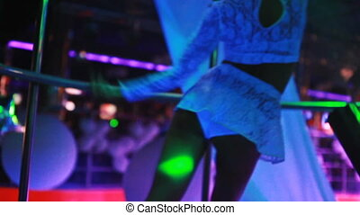 PJ dancing at the nightclub