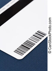 plástico, digital, datos, tarjeta