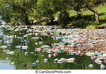 plástico, poluição