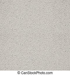 plâtre, granuleux, gris, fond