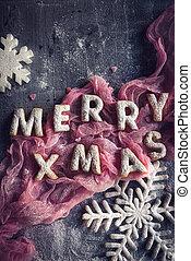 pl�tzchen, weihnachten, fröhlich