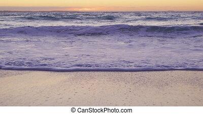 plaża, cel, święto