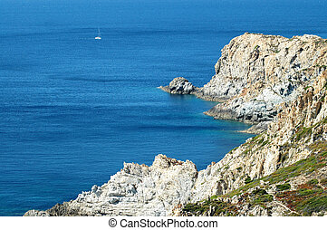 plaża, corsica